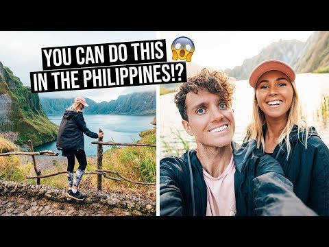 We Didn't Expect this in the Philippines | Camping on an Active Volcano - Mt Pinatubo