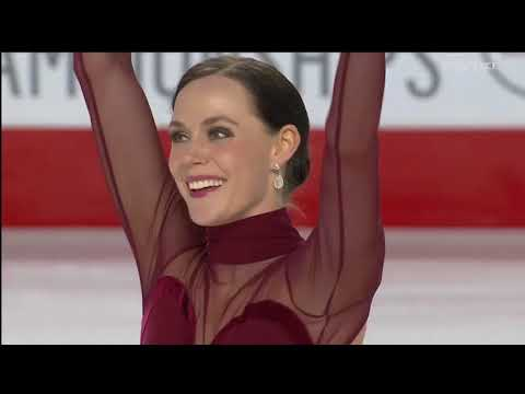Tessa Virtue / Scott Moir 2018 Canadian Tire National Skating Championships - FD & interview