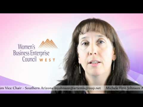 Women Business Enterprise. WBEC-West Regional Forum Vice Chair Michele Finn Johnson