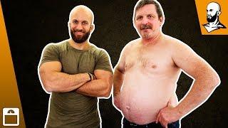Opa Klaus will abnehmen! Bodytransformation #1
