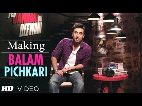 Balam Pichkari Song Making Yeh Jawaani Hai Deewani | Ranbir Kapoor, Deepika Padukone