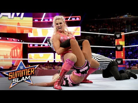 Charlotte Flair takes charge against Becky Lynch and Carmella: SummerSlam 2018 (WWE Network) thumbnail