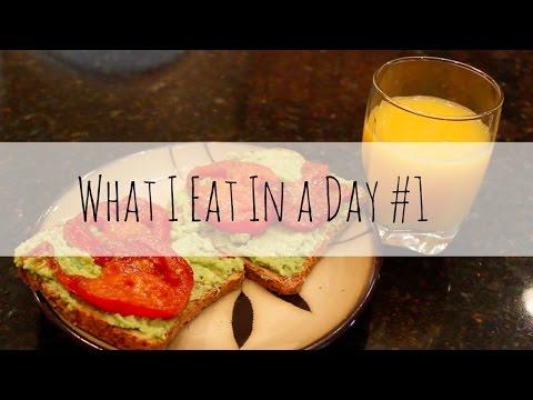 What I Eat in day #1VEGAN | Charity Joy