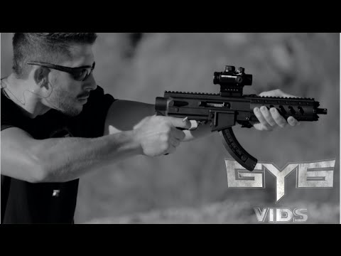 Tactical Ruger Charger 1022 Ati Stock System Full Review Youtube