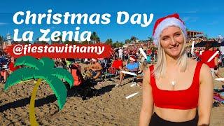 Christmas Day At La Zenia Beach 2019
