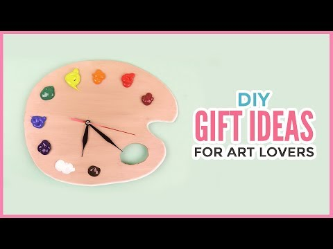 Creative DIY Gift Ideas For Art Lovers | Christmas & Birthday Gifts Every Artist Will Appreciate!