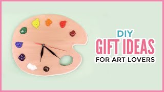 Creative Diy Gift Ideas For Art Lovers   Christmas & Birthday Gifts Every Artist Will Appreciate!