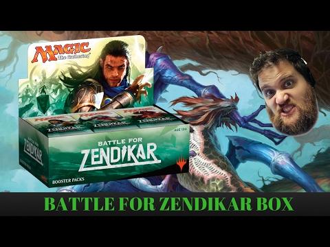A Forgotten Box Of Battle For Zendikar For An Unforgettable Friend