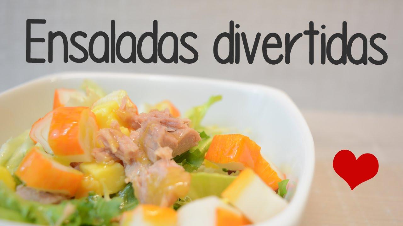 3 ideas de ensaladas y salsas recetas sanas y originales for Ideas ensaladas originales