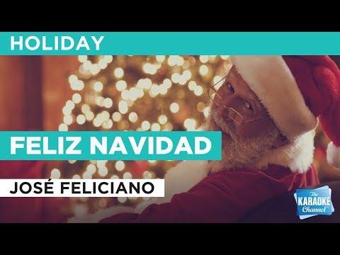 """Feliz Navidad in the Style of """"José Feliciano"""" with lyrics (no lead vocal)"""
