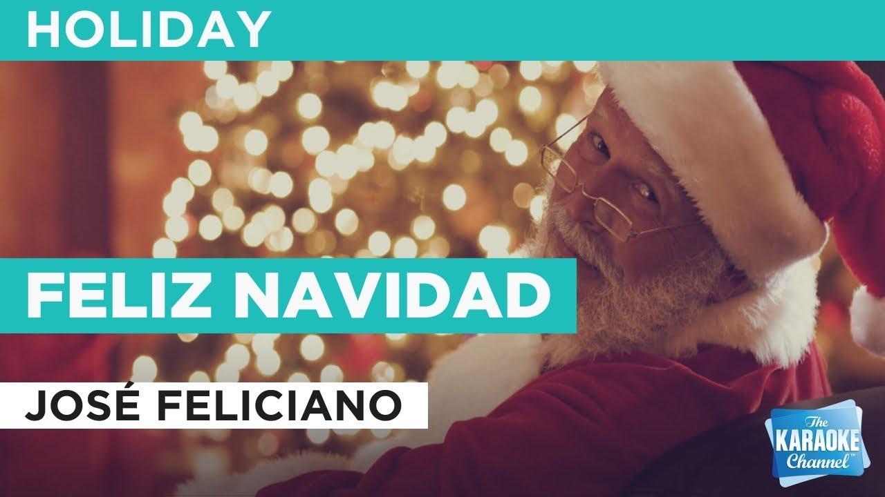 """Feliz Navidad in the Style of """"José Feliciano"""" with lyrics (no lead ..."""