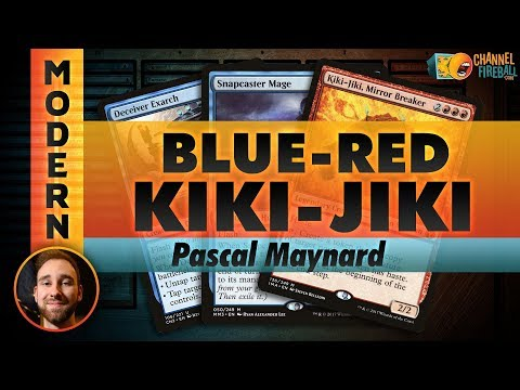 Blue-Red Kiki Combo - Modern  | Channel Pascal