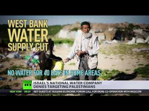 Israel cuts water supplies to West Bank, Palestine authorities claim