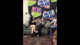 Hershey Jingle Ball 2011 - JoJo Interview Part 1