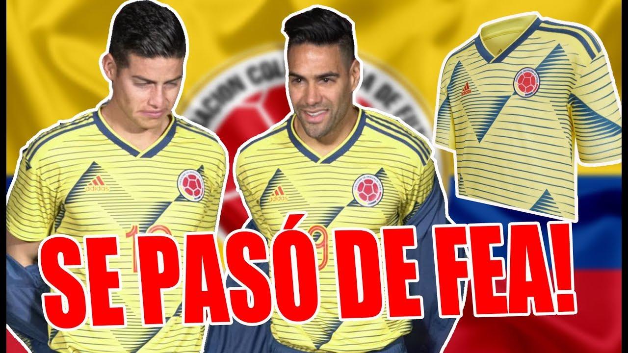 Camiseta Seleccion Colombia 2019 Image: CRITICAS A LA NUEVA CAMISETA DE LA SELECCIÓN COLOMBIA 2019