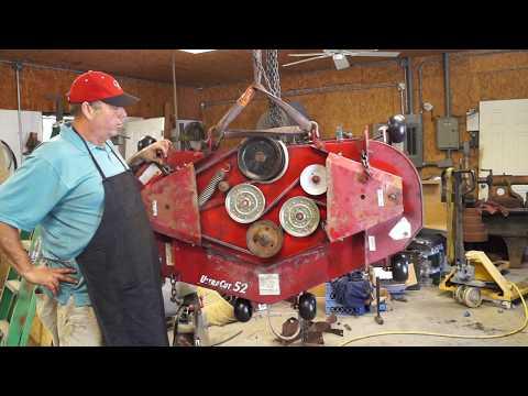 Ex mark Motor Swap, Part 5 Test Cut