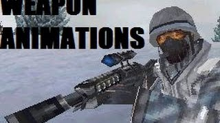 Call of Duty: Modern Warfare 3 Defiance - Weapon Animations