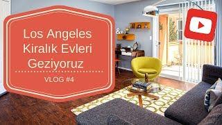 Los Angeles Kİralik Evlerİ Gezİyoruz! Vlog#4