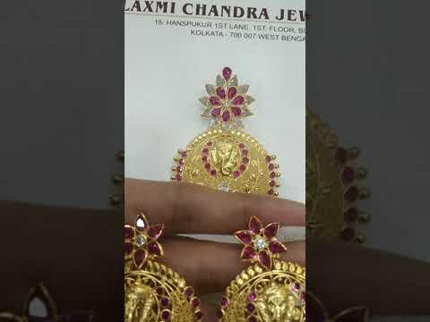 Manufacturer of designer gold cz jewellery