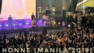 Crying Over You (Live) HONNE • TRINOMA • MANILA 2019