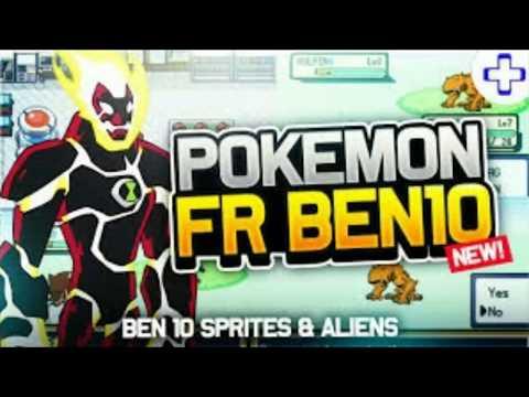 How to download Pokemon fire red Version in Ben 10 version in Telugu
