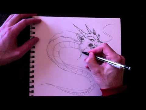 Dessiner Un Dragon Chinois Avec Paolo Morrone Youtube