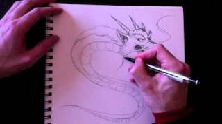 comment dessiner un dragon
