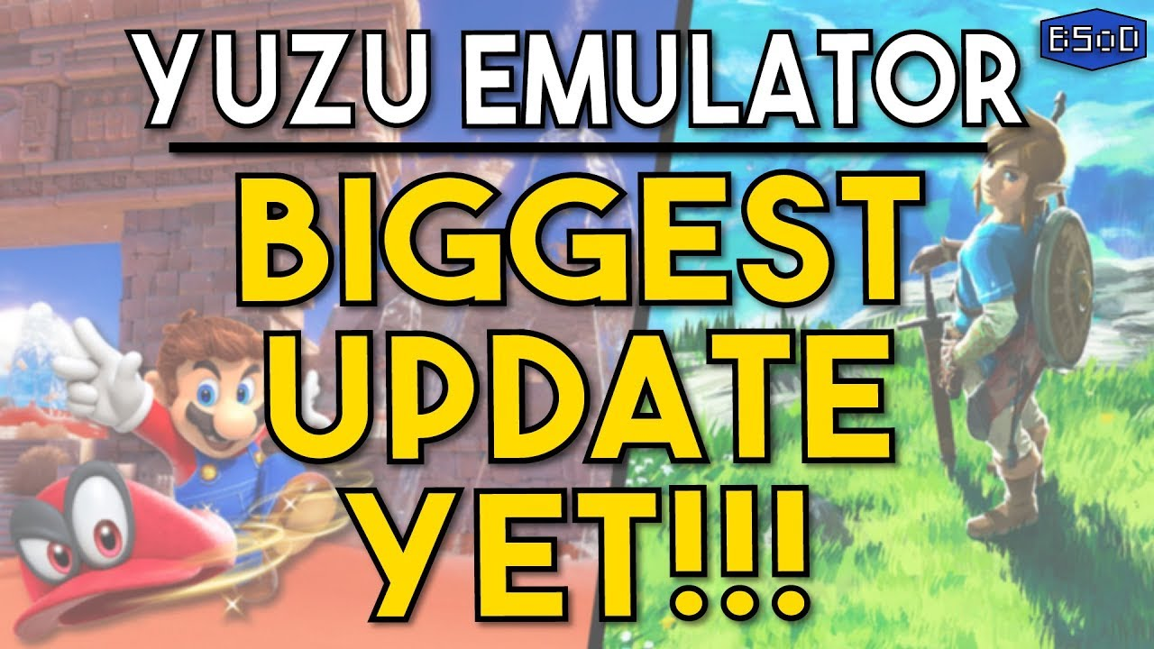 Zelda Breath of the Wild Becomes Semi-Playable on Yuzu Emulator & Much More