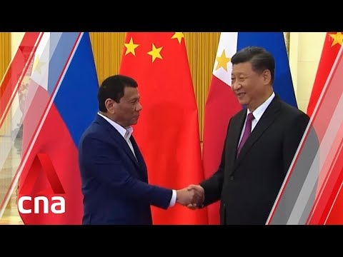 Philippines' Duterte To Bring Up South China Sea Issue During China Visit