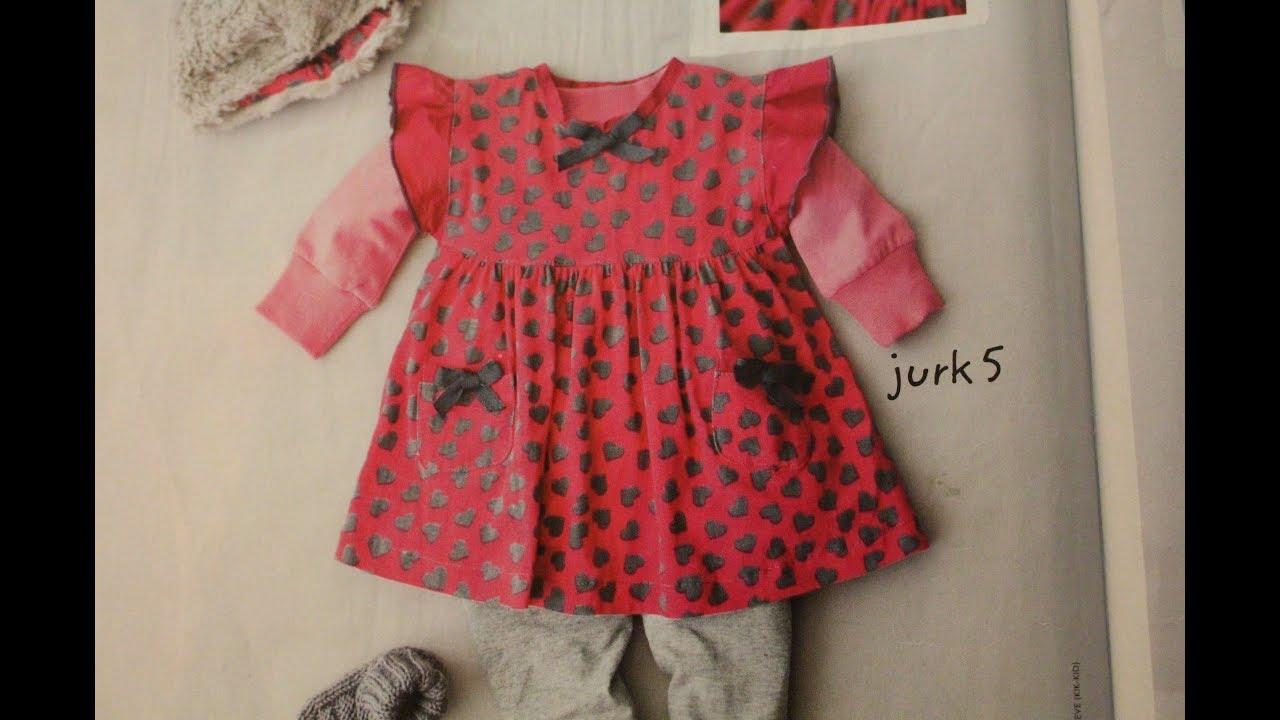 6e93fb6e8 رسم باترون ملابس الاطفال حديثين الولاده - YouTube