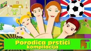 Porodica Prstići - kompilacija | Finger Family | Dečije pesme | Jaccoled