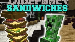 Minecraft: MAKE ME A SANDWICH MOD (LARGEST SANDWICH EVER CREATED!) Mod Showcase