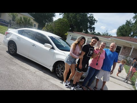 SURPRISING GRANDMA WITH A NEW CAR! (Emotional)