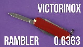 Розпакування Victorinox Rambler 0.6363