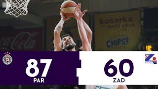 Partizan - Zadar 87:60 | Pregled utakmice | ABA liga
