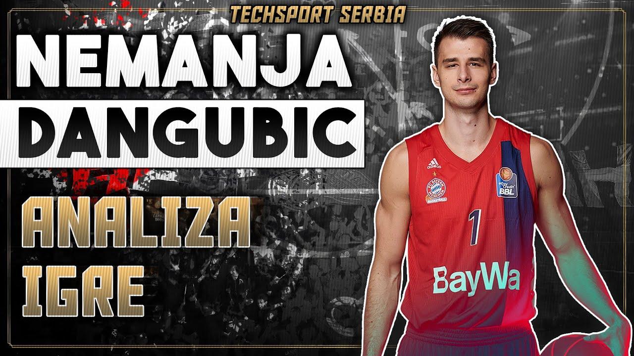 Nemanja Dangubić - Analiza igre   KK Partizan 2020/21