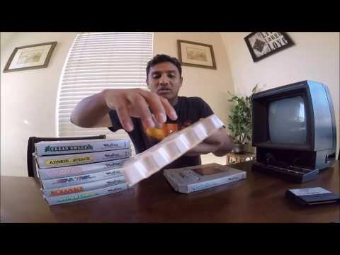 Unboxing Consola Vectrex 1982 y 7 Juegos Todo por $16 Dolares!