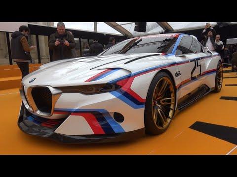 Bmw 3 0 Csl Hommage R 2016 Concept Car Show Paris