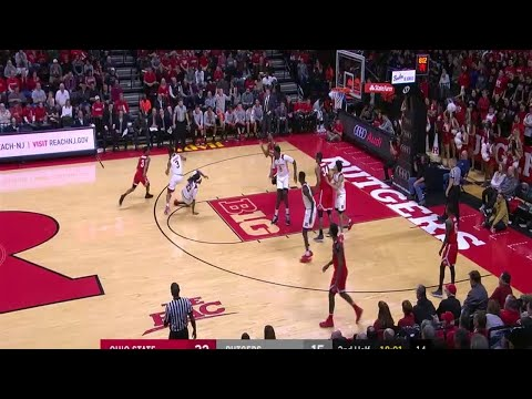Big Ten Basketball Highlights: Ohio State at Rutgers
