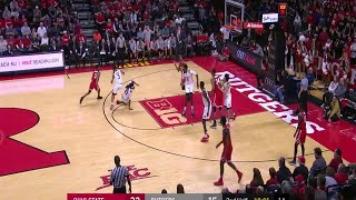 Big Ten Basketball Highlights: Ohio State at Rutgers