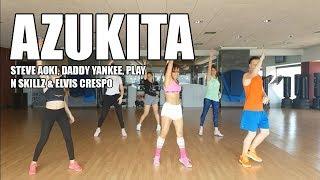 Azukita - Steve Aoki, Daddy Yankee, Elvis Crespo - ZUMBA 2018 By Jacqueline Valenzuela Ca ...