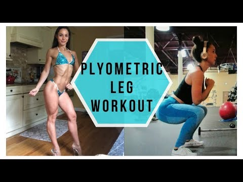Plyometric Leg Workout | Bikini Prep Week 7