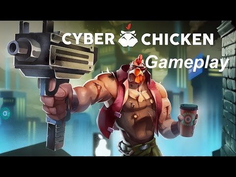 A CHICKEN WHO'S A CYBORG | Cyber Chicken | Gameplay |