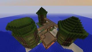 Minecraft:สอนสร้างบ้านต้นไม้ยักษ์