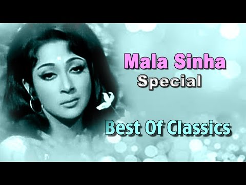 Best  Of Mala Sinha  Bollywood Hindi Hit   All Time Superhits Old