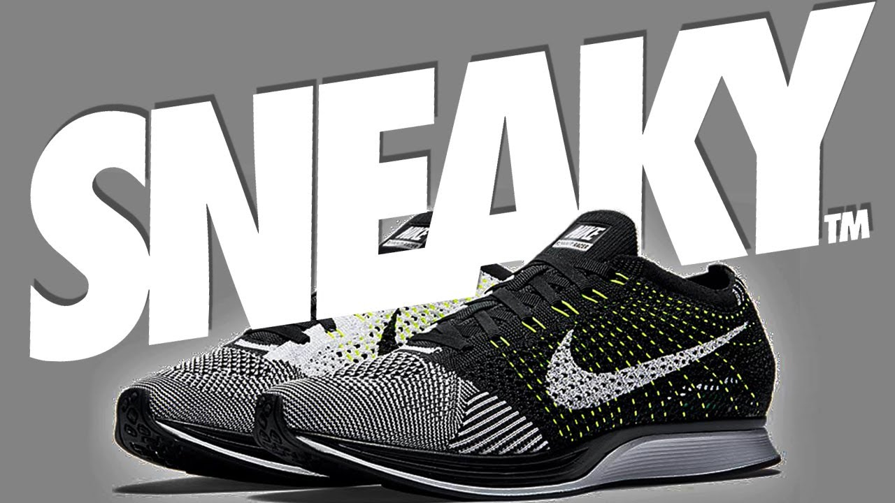 Sneaky Wipes clean Nike Flyknit Racer Trainers