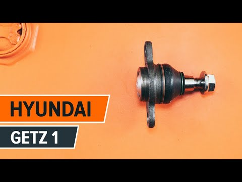 How to replace ball joint on HYUNDAI GETZ 1 TUTORIAL | AUTODOC