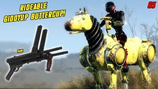 Fallout 4 Mods Week 65 - Rideable Giddyup Buttercup!