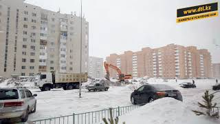 Фото Моменты погоды в феврале возле нашего офиса. ЖК Жайна.