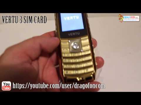 Телефон на 3 сим карты. Vertu на 3 сим карты - YouTube
